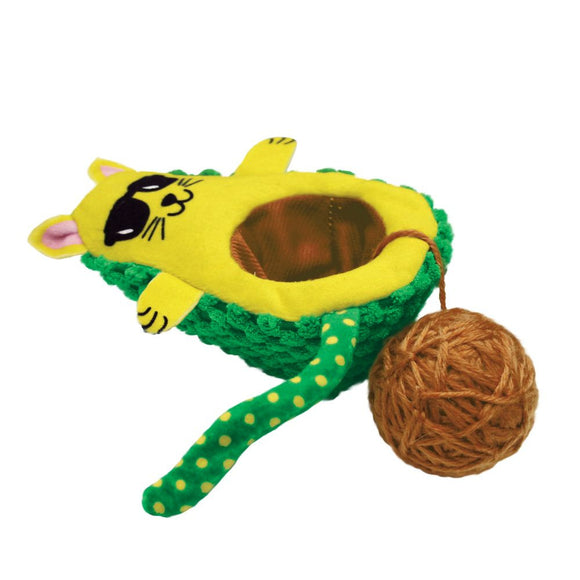 Kong Wrangler AvoCATo Cat Toy