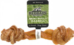 Redbarn Naturals Mini Bully Barbell Dog Treat