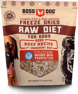 Boss Dog Complete & Balanced Beef Recipe Freeze Dried Dog Food