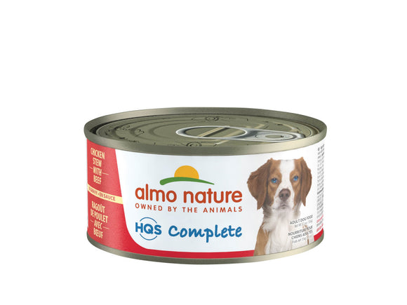 Almo Nature HQS Complete Dog Complete & Balanced Chicken Dinner with Pumpkin Canned Dog Food