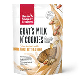 The Honest Kitchen Goat's Milk N' Cookies Slow Baked with Peanut Butter & Honey Dog Treats