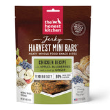 The Honest Kitchen Jerky Harvest Mini Bars Chicken Recipe With Apples & Blueberries Dog Treats