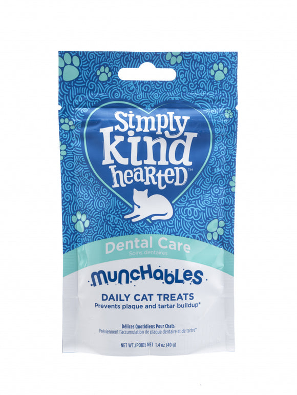 Simply Kind Hearted Munchables Dental Care Cat Treats