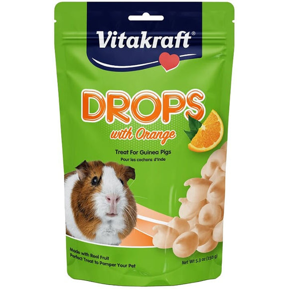 Vitakraft Guinea Pig Drops With Orange