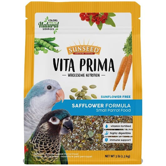 Vitakraft Vita Prima Safflower Formula Small Parrot
