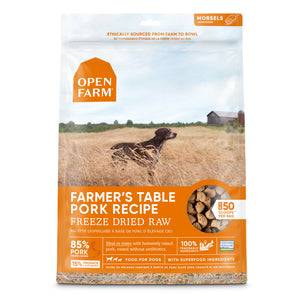 Open Farm Farmers Table Pork Freeze Dried Dog Treats