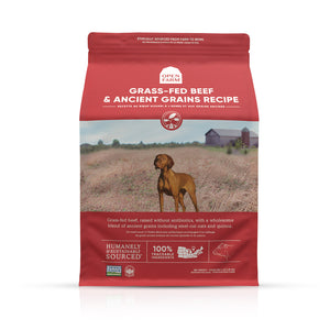 Open Farm Grass-Fed Beef Ancient Grain Dry Dog Food