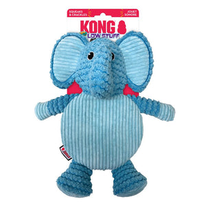 KONG Low Stuff Crackle Tummiez Elephant Dog Toy