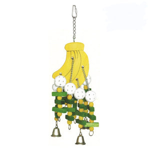 A & E Happy Beaks Large Bananas Bird Cage Accessory