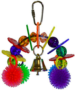 A & E Happy Beaks Rainbow Bridge Bird Cage Accessory