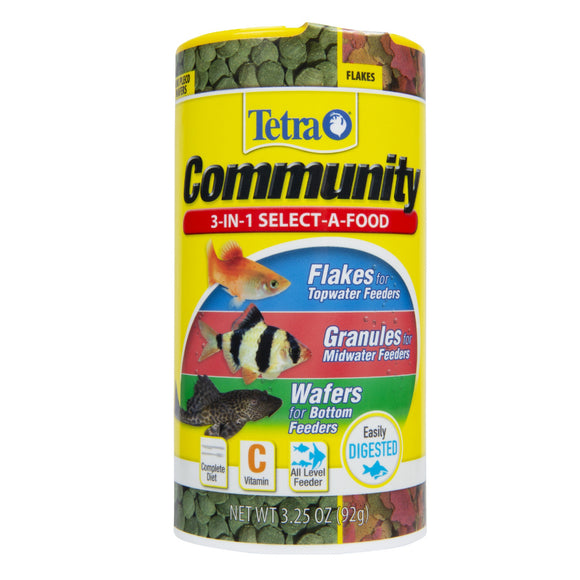 Tetra Community Select-A-Food Tropical Fish Food