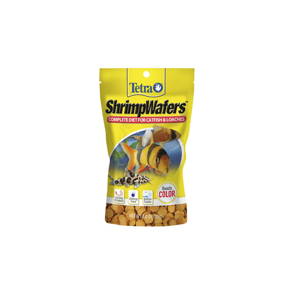 Tetra ShrimpWafers Catfish & Loaches Fish Food