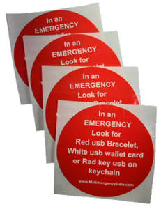 Notification Decals (4pk)