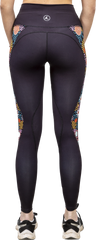 From The Bush Panel Leggings Back View