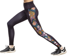 From The Bush Panel Leggings Side View