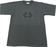 CLEARANCE T Shirt Adult - Warrior Dreaming Grey