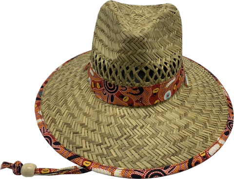 **NEW** Bulurru Wide Brim Straw Hats - 4 designs to choose from