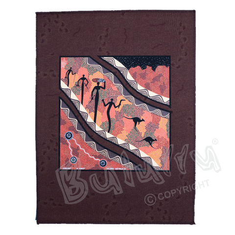 Songline Art Panel Brown or Black