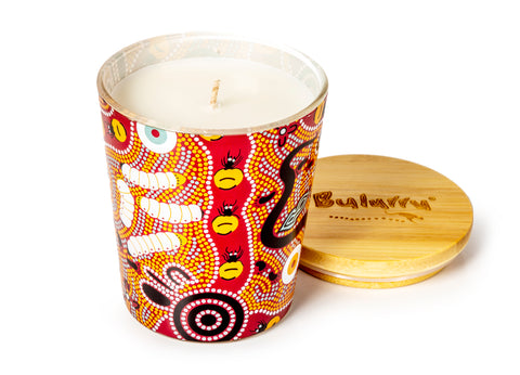 Bulurru Soy Candle Bush Tucker Tan Orange Blossom
