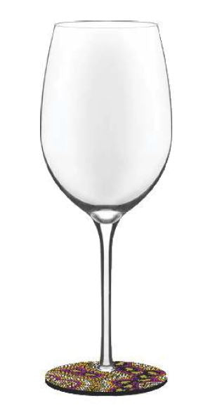**NEW** Wine Glass Base Covers - 10 Bulurru Designs To Choose From