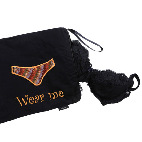 Wash Me/Wear Me Bag - 2 pocket Underwear Bag