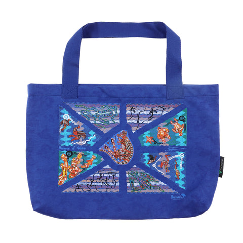 Balance Of Nature Blue Tote Bag SMALL