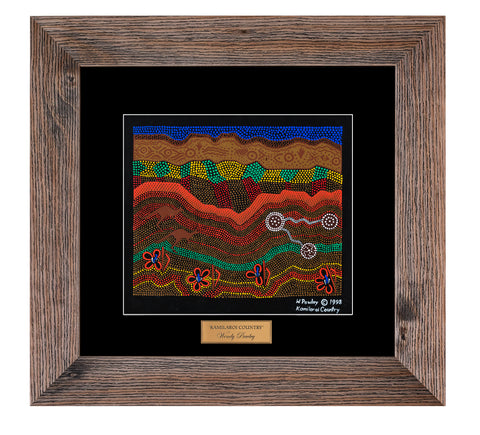 Bulurru Aboriginal Art Canvas Print - Kamilaroi Country By Wendy Pawley