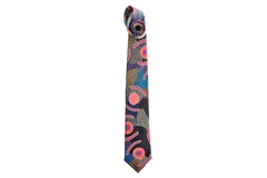 Mans Ceremony Blue Silk Tie