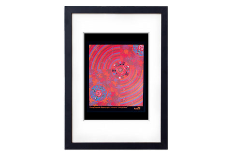 Women's Corroboree Art Print