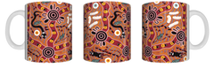 Bulurru Aboriginal Design Mug in Gift Box - 9 Designs To Choose From