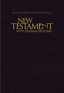 NIV, New Testament with Psalms and Proverbs, Pocket-Sized, Paperback, Black !! GFBtB DONATION ONLY !!