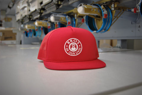Red Flag Bar Tab Bro Hat