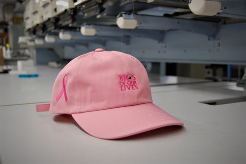 Pink Breast Cancer Bro Hat