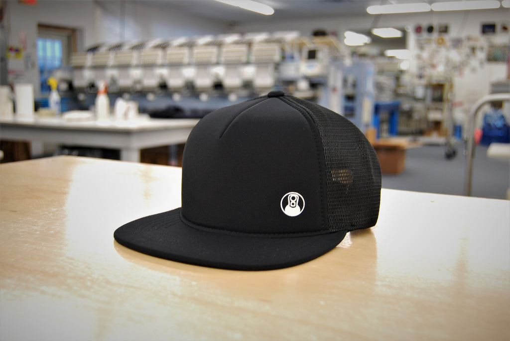 Large Iced Black Bro Hat