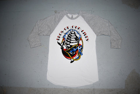 Grey Traditional Bro Raglan