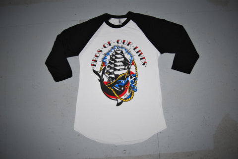 Black Traditional Bro Raglan
