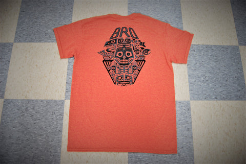 Sunset Totem Bro Tee