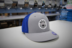 Blue Base Hit Bar Tab Bro Hat