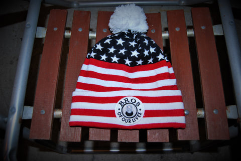 Stars and Stripes Bro Beanie