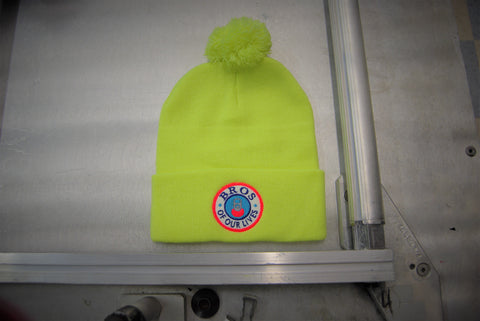 Electric Bar Tab Bro Beanie