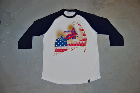 All-American Trapp Raglan