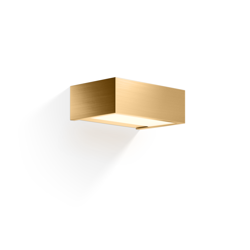 Box 15 Wall Light LED - Matte Gold