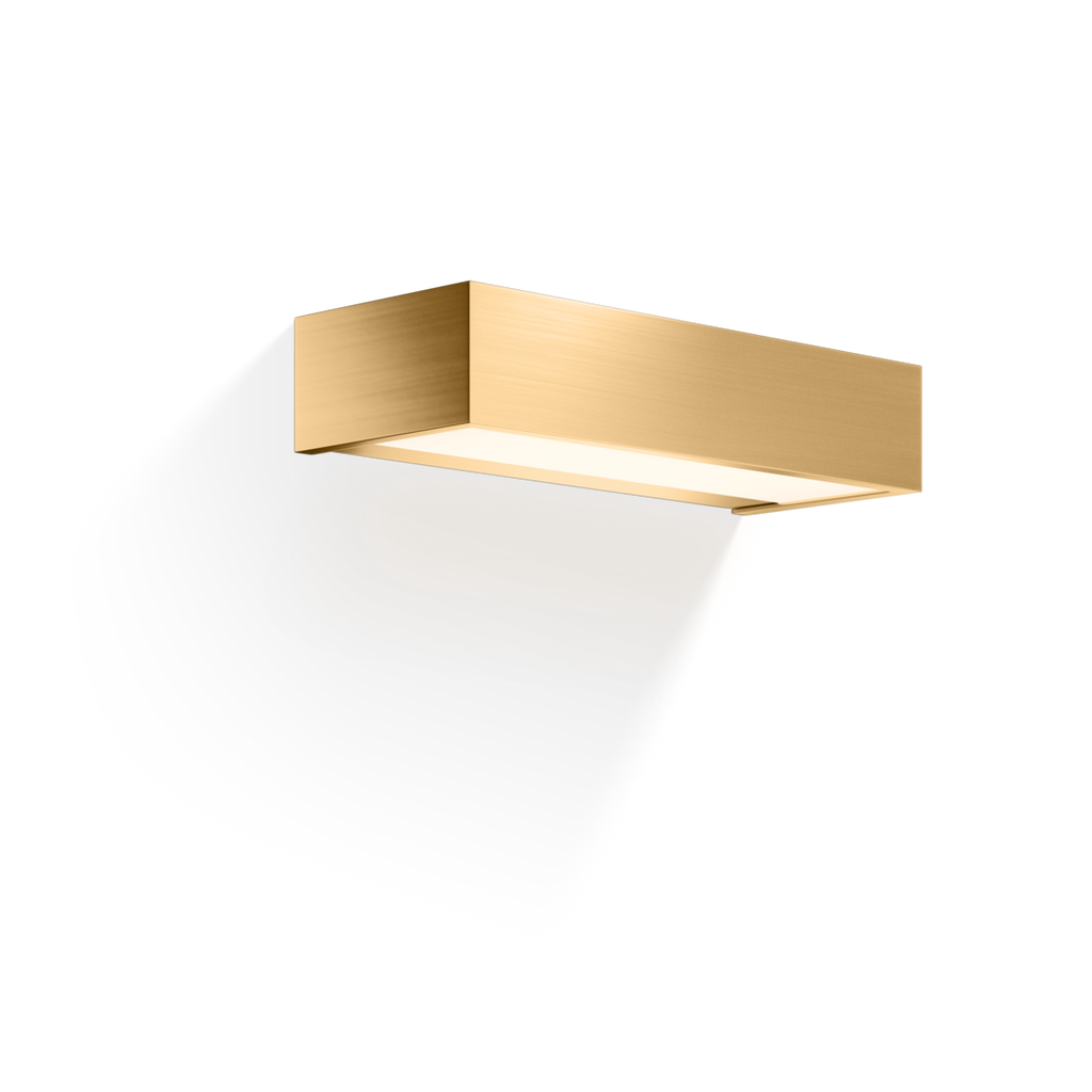 Box 25 Wall Light LED - Matte Gold