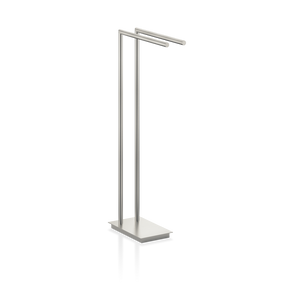 Towel Stand Straight 2 - Nickel Satin