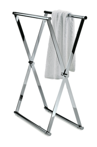 Towel Stand Cross 1 - Chrome