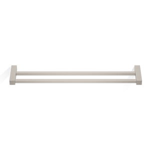 Corner Double Towel Rail HTD60 - Satined Nickel