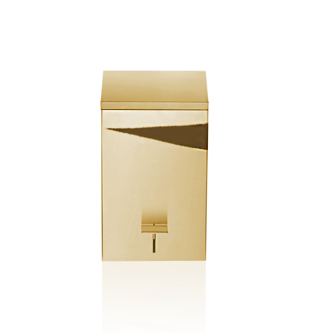 Pedal Bin TE70 Soft Close - Gold