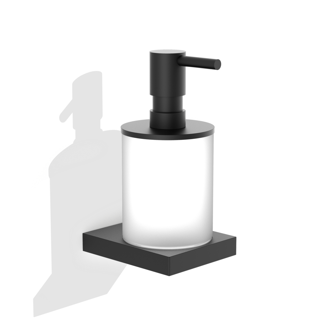 Contract Soap Dispenser Wall Mounted WSP - Matte Black