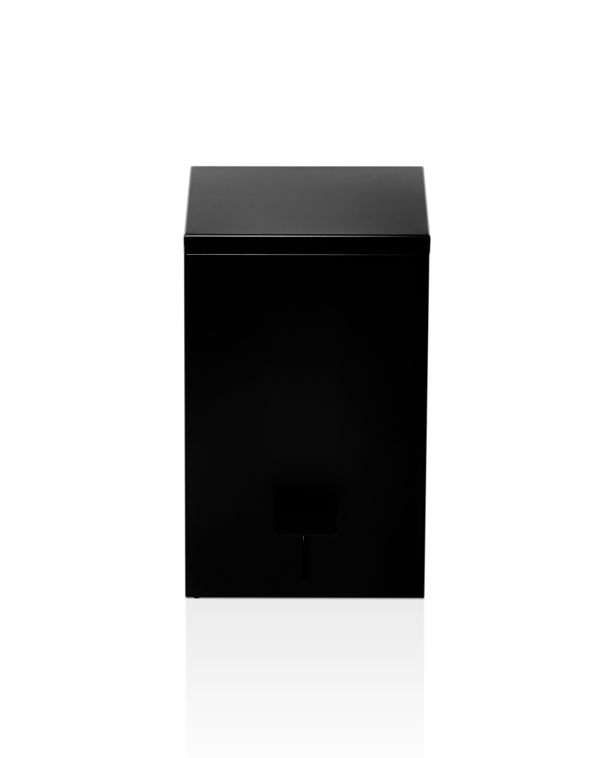Pedal Bin TE70 Soft Close - Matt Black