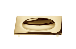 Soap Dish Cube DW351 Gold